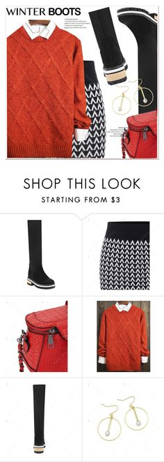 """""""So Cozy: Winter Boots"""" by paculi ❤ liked on Polyvore featuring winterboots"""