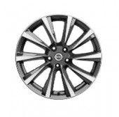 "Nissan Qashqai (J11E) 19"" Alloy Wheel, Dark Grey - Diamond Cut inc Centre Cap - Wind"