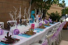 Frozen Birthday Party Ideas | Photo 12 of 21 | Catch My Party