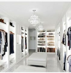 dream rooms for women \ dream rooms ; dream rooms for adults ; dream rooms for women ; dream rooms for couples ; dream rooms for adults bedrooms ; dream rooms for girls teenagers Walk In Closet Small, Walk In Closet Design, Closet Designs, Master Closet Design, Dream Home Design, Modern House Design, Home Interior Design, Dream House Interior, Room Interior