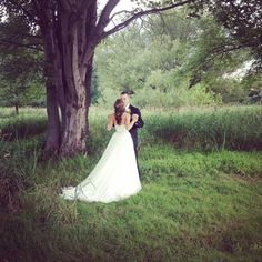 Beautiful picture by the willow tree at Galloping Hill Golf Course.