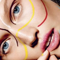 new year, new you with Isamaya Ffrench and Toni Garrn