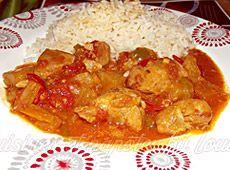 Curry+de+porc+à+l'ananas ++    cuisineregionale.fr+de+vraies+recettes+réalisées+par+de+vrais+internautes