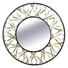 Adeline Wall Mirror // ribbon aesthetic
