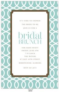 bridal brunch invite #Recipes