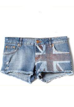 Shorts Union Jack de Pull & Bear