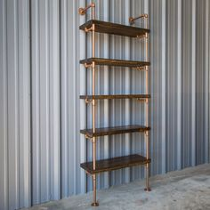Industrial Pipe Shelving Unit  Pipe bookshelf  by IndustrialEnvy