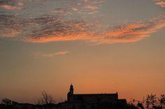 regram @aroundsiena Sunset on San Francesco. #siena #aroundsiena