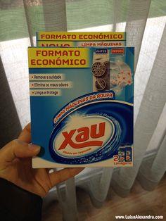 O Continente está com promoção de 50% de desconto na marca XAU e eu aproveitei para comprar este Limpa Máquinas de Lavar Roupa para experimentar. Quando coloquei ESTE POSTacerca da limpeza da minha máquina de lavar roupa várias foram as pessoas que aconselharam este detergente limpa máquinas, e então vou testar para comprovar osRead More »