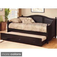 Boys room daybed -adds mor space
