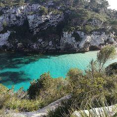 Pero qué bonito eres Menorca.  #calamacarelleta #menorca #igersbaleares #menorcaparadise
