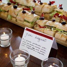 Party Menus For 50 People At Church An Open House Attended By 80