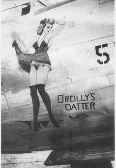 456th Bomb Group: Nose Art O'reilly's Datter