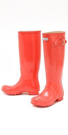 e21333f0da1f Hunter Boots Hunter Gloss Rain Boots