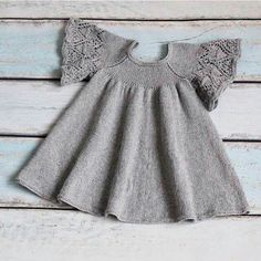 Crochet is the New Source of Income for Thousands of Women Knit Baby Dress, Knitted Baby Clothes, Baby Pullover, Baby Cardigan, Knitting For Kids, Baby Knitting Patterns, Baby Outfits, Crochet Baby, Knit Crochet