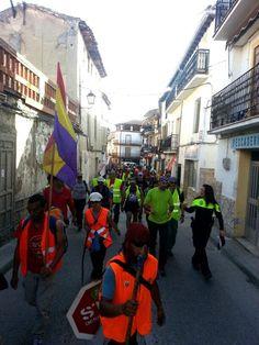 La Columna Este llega a Perales de Tajuña y se prepara para entrar en Ma...