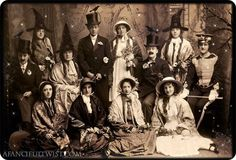 vintage Halloween soiree ~ i love this photo and had at a wallpapaer on my laptop for some time