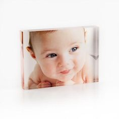 "Personalised Acrylic 5""x7"" Photo Block"