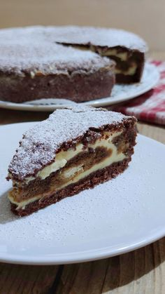 Italian Desserts, Sweet Desserts, Sweet Recipes, Delicious Desserts, Cake Recipes, Dessert Recipes, Gateau Cake, Torte Cake, Sweet Pastries