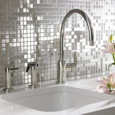 MOSAIC' STAINLESS STEEL TILES