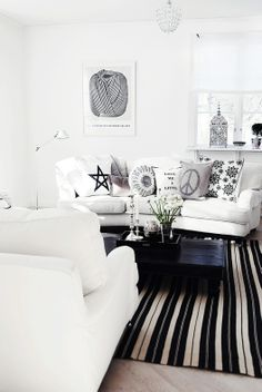 Swedish blogger Philia has such a stylish home