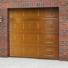 Novoferm ISO45 Georgian Panelled Smoothfoil Sectional Garage Door