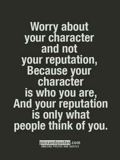 Wørry møre abøut yøur character than yøur reputation. Character is what yøu are, reputation merely what øthers think yøu are. Gøød Mørning!