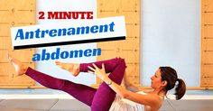 2 minutes of movement for a beautiful abdomen. Series of 5 exercises Pialat . Cardio, Blog, Cinema, Beautiful, Movies, Blogging, Movie Theater