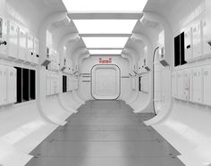 I updated to 3dsMax 2017, and trying out the new render system ART. So updated my Tantive IV corridor and putting it through its paces :)