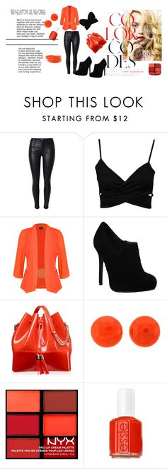 """Divina!!!"" by divinas40 on Polyvore featuring moda, City Chic, Kartell, NYX y Essie"