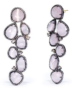 Diamond-Quartz Earrings - Ralph Lauren Earrings - RalphLauren.com