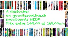 New on goodiesonline.ch Snowboards Apo...