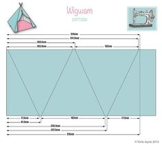 Wigwam pattern & tutorial Plus