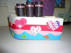 The Love Boat Valentine box!