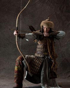 Mongolia, Larp, Female Armor, Cowboy Horse, Traditional Archery, Leather Armor, Native American Art, Ancient History, Cosplay
