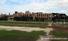 Circus Maximus - So far, no sight of Russel Crowe...
