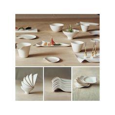 Kaku – Set de 8 assiettes carrées