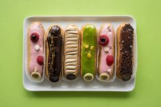 """Anything at L'éclair de genie, Christophe Adam's pastry shop in Le Marais. Incredible."" Submitted by tdolev"