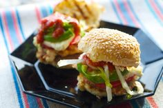 grilled chicken cemitas with tortilla #popchips.