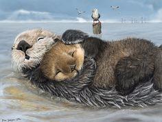 Habitat - Isha's Sea Otters