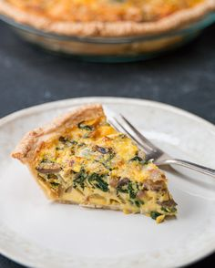 Sausage & Veggie Quiche #TastyFreshFriday