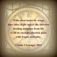 Fragile Mortality ~ ©Susie Clevenger 2013