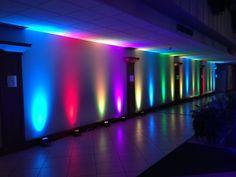 Reception Up Lighting