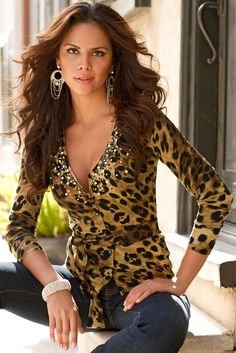 Sexy, shapely, stand-out sweaters, only at www.bostonproper.com. #bostonproper #sweaters #fallcollection #animalprint