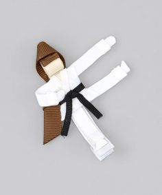 Take a look at this Karate Girl Clip by The Hair Candy Store on #zulily today!