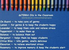 Back to school oils http://www.therapureoils.com/