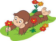 かわいい漫画のキャラクター, おさるのジョージ 誕生日, カップケーキ, ピノキオ,