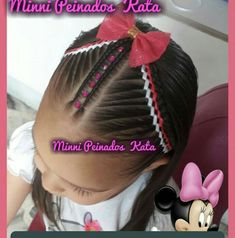 Manicure Y Pedicure, Kids Braided Hairstyles, Braids For Kids, Samara, Hair Styles, Beauty, Fashion, Make Up, Ideas