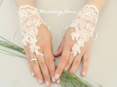 ivory Wedding Glove ivory lace gloves Fingerless by WEDDINGHome Lace Cuffs, Lace Gloves, Fingerless Gloves, Ivory Wedding, Wedding Bride, Wedding Ideas, Wedding Inspiration, Dream Wedding, Chic Wedding