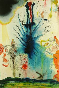 Salvador Dali, The Land of Milk and Honey, Lithograph on Paper,  Aliyah, 1968